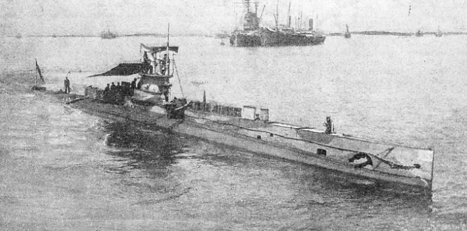H.M. SUBMARINE E 14 at the Dardanelles