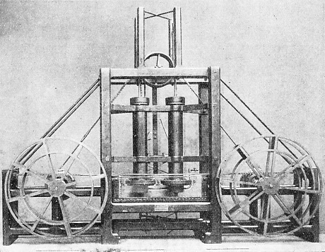WILLIAM SYMINGTON'S FIRST MARINE ENGINE
