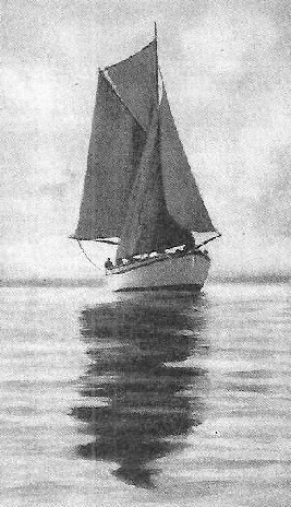 "The ""Ogre"", in which Ralph Stock sailed to the Pacific"
