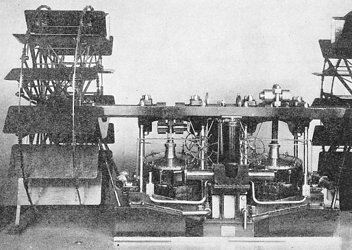 THE ENGINES OF THE LEINSTER, an iron paddle steamer built in 1860