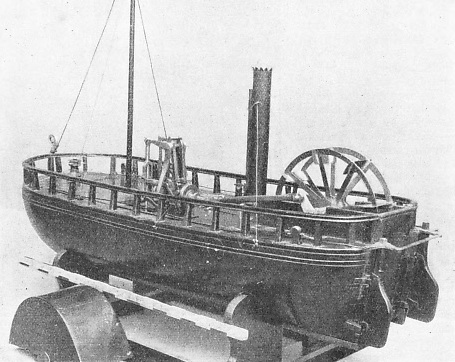THE CHARLOTTE DUNDAS was successfully tried on the Forth and Clyde Canal in 1802
