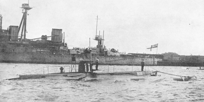 The obsolescent submarine B 11