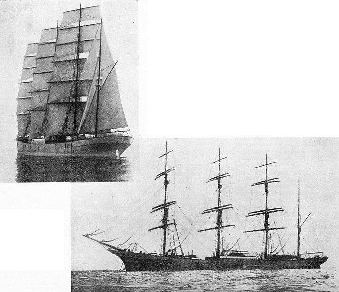 Two photographs of the James Kerr