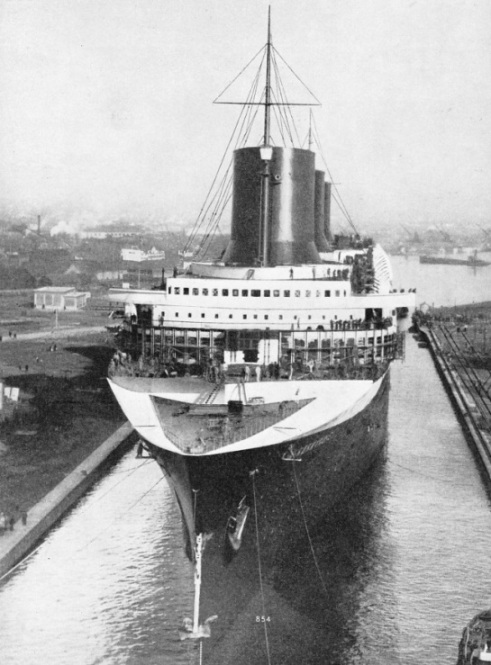 The Normandie has a gross tonnage of 86,496