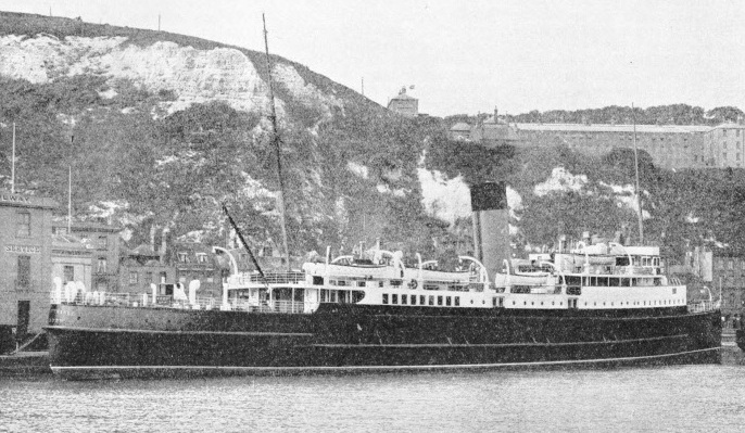 "The ""Isle of Thanet"" at Folkestone"