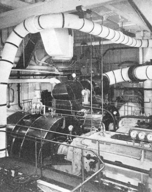 The Engine Room From Way Back: The Queen Mary's Engines