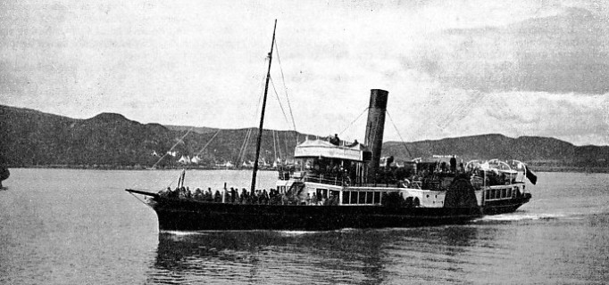 The Fusilier, a paddle steamer built in 1888