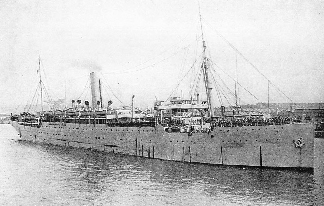 "The troopship ""Demosthenes"""