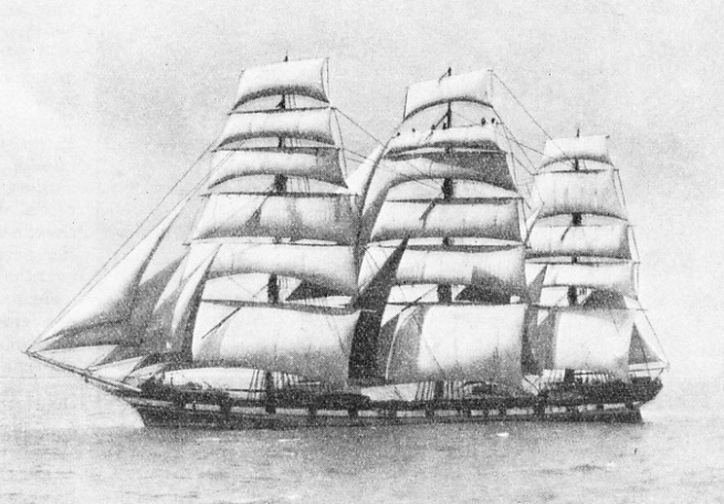 CIRCE, A FULL-RIGGED SHIP