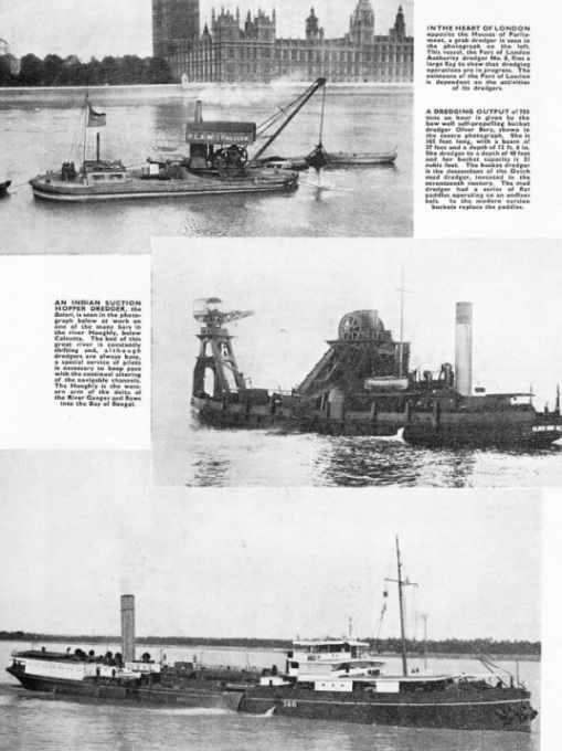 dredgers and hoppers