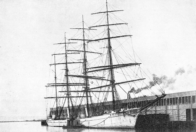The Dirigo, had a bad reputation among sailors: this ship was the original of Jack London's famous Hell Ship