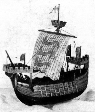 EARLY SHIP OF THE THIRTEENTH CENTURY