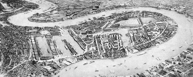 THE WEST INDIA AND MILLWALL DOCKS