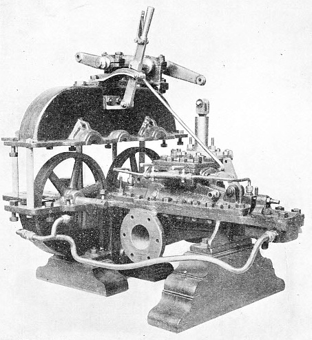 THE FIRST GEARED STEAM TURBINE for marine use was made in 1897 by Parsons Marine Steam Turbine Co, Ltd