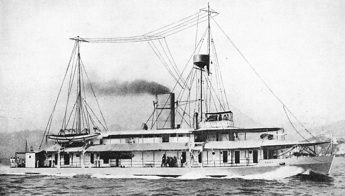 "The river gunboat ""Tern"""