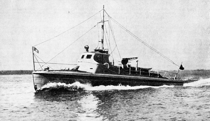 A MODERN STREAMLINED REVENUE CUTTER used in Canada
