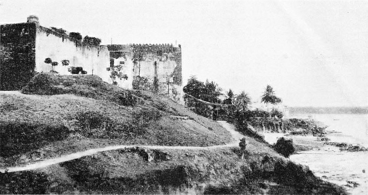 Fort Jesus is on the spot reached by Vasco da Gama on Palm Sunday 1498