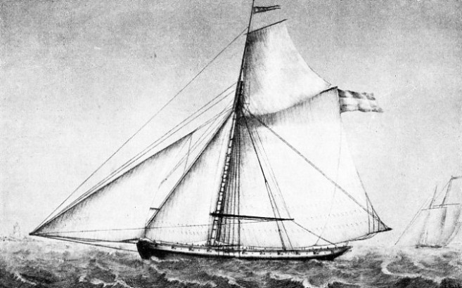 The Revenue cutter Eagle