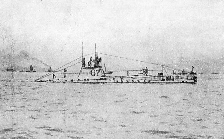 AN EARLY TYPE OF SUBMARINE
