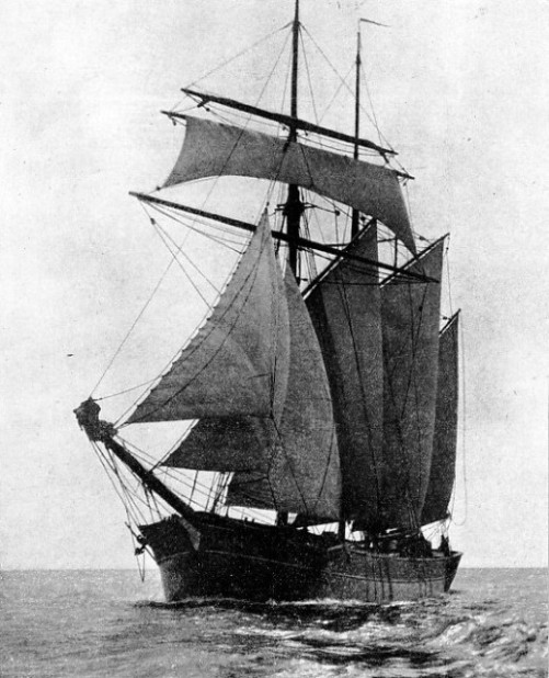 The Englishman is a three-masted topsail schooner of 144 tons gross