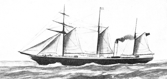 THE EDINA IN 1863 was transferred from the New Zealand trade to the coastal run between Portland and Warrnambool, Victoria