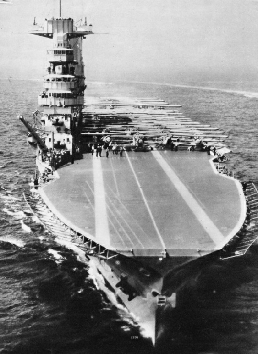 "The USS ""Saratoga"""