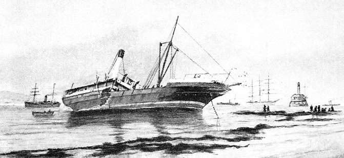 On April 27, 1898, the Edina was nearing Williamstown on the run from Geelong to Melbourne, when she collided with the wooden steamer Manawatu