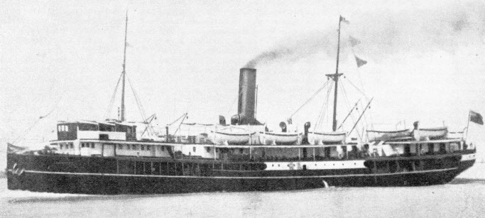 The Tungchow was captured by pirates in 1935