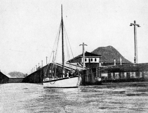 The dream ship Ogre in the Panama Canal