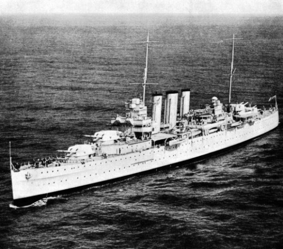 HMS Devonshire was laid down in 1926 and completed in 1929
