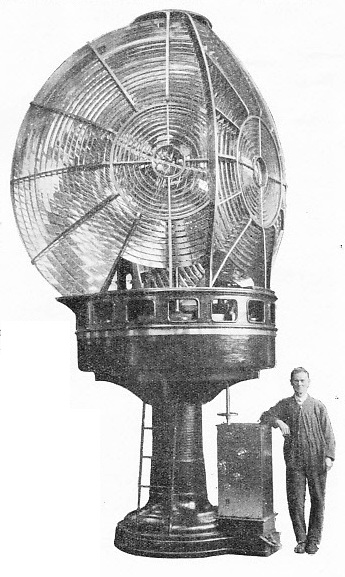 920 mm revolving optical apparatus for Eclipse Island lighthouse, Australia