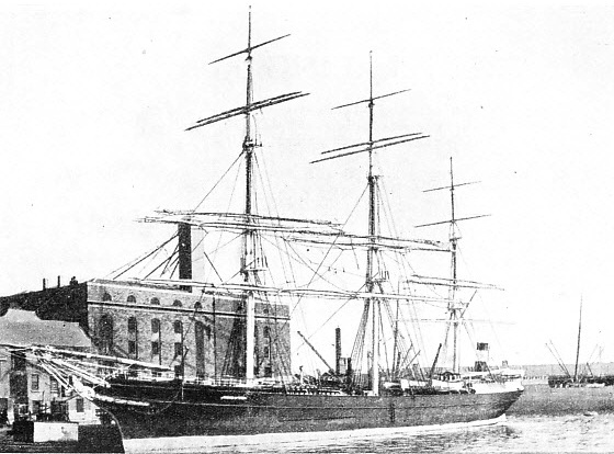 THE PERICLES WAS ALSO BUILT AT ABERDEEN, but by a rival firm