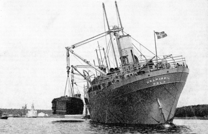 The Belpareil at Schiedam in 1931