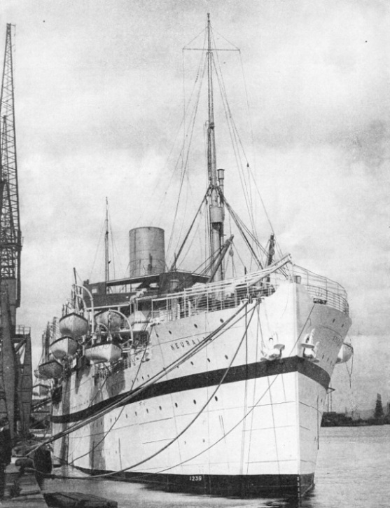 The British India liner Neuralia
