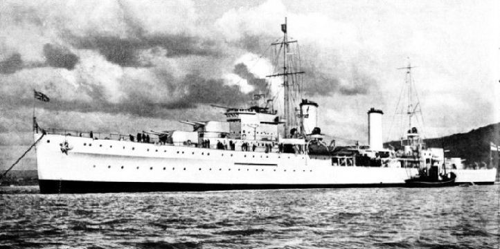 HMS Apollo is one of the most modern cruisers in the British Navy