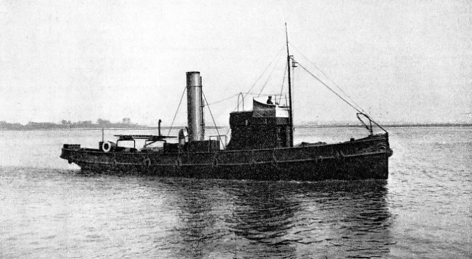 The St. George is one of the fleet of H.M. Customs cutters