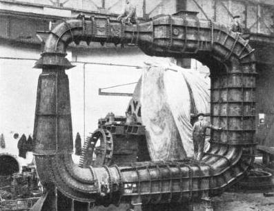 The Lithgow Tunnel for testing propellers at Teddington