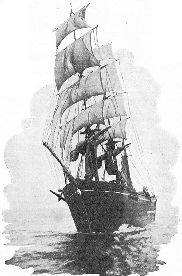 A NOTORIOUS VESSEL, known as the Bloody Gatherer
