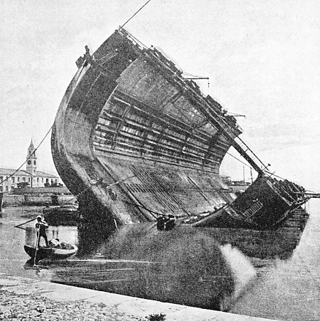 THE FIRST BERMUDA DOCK was a hollow-walled iron dock built in 1868