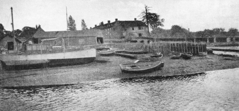 Buckler's Hard, once a scene of shipbuilding