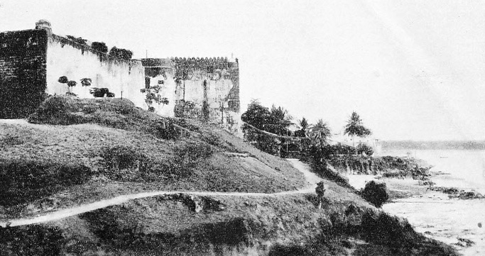 Portuguese fort at Mombasa