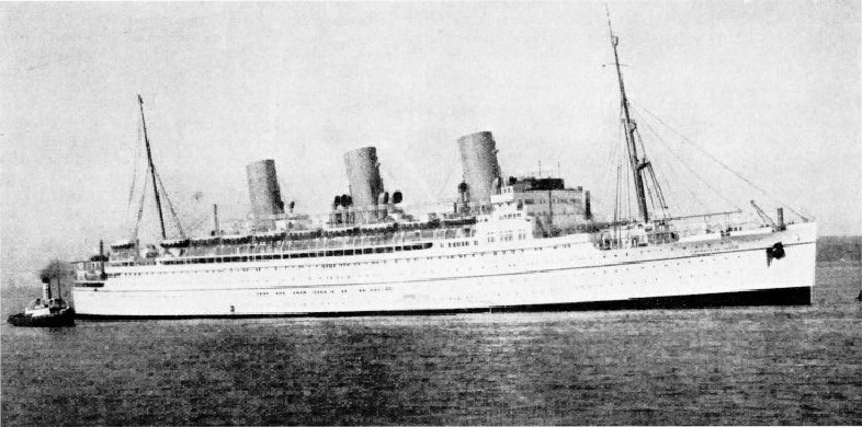 The Empress of Japan built in 1930