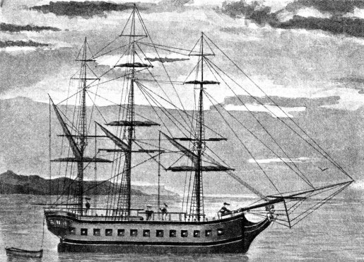 THE RESOLUTION was the three-masted ship of 462 tons