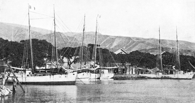 THE HARBOUR OF PAPEETE, Tahiti