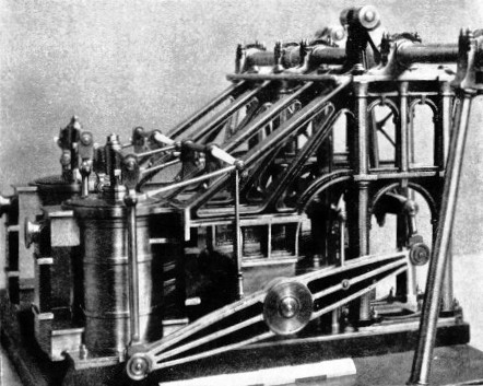 The engines of the paddle steamer Ruby built in 1836