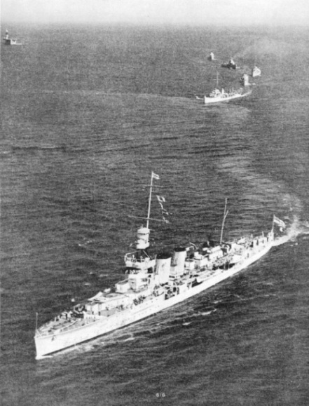 HMS Coventry during naval exercises