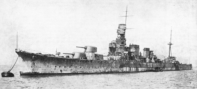 The Japanese Cruiser Kako