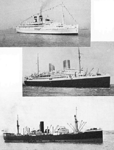 "The ships ""Arandora Star"", ""Asturias"" and the ""Clan Robertson"""
