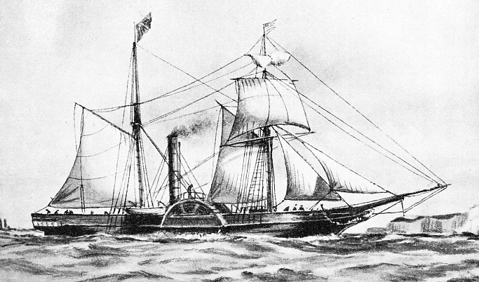The Irish cross-Channel packet Royal William, built in 1837