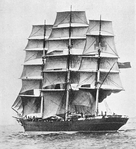 THE BEAUTIFUL CIMBA was so popular that seamen would accept casual labour in the docks, so that they could be at hand when Captain Holmes was signing on his crew